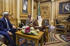 Ngoại trưởng Mỹ tới Saudi Arabia bàn về tình hình Syria