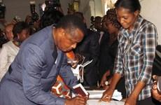 Người dân CH Congo ủng hộ tổng thống tranh cử nhiệm kỳ ba liên tiếp
