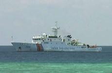 Malaysia tiếp tục giám sát tàu hải cảnh Trung Quốc ở bãi cạn Luconia
