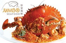 Hải sản cua sốt ớt nổi tiếng Singapore lên sàn chứng khoán