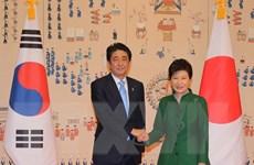 Hội đàm cấp cao Nhật Bản-Hàn Quốc đạt kết quả tích cực