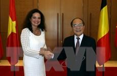 Chủ tịch Thượng viện Bỉ kết thúc tốt đẹp chuyến thăm Việt Nam