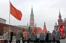 Nga và Belarus tưng bừng kỷ niệm 98 năm Cách mạng tháng Mười
