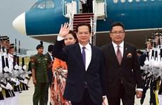 Thủ tướng Nguyễn Tấn Dũng đã tới thủ đô Kuala Lumpur
