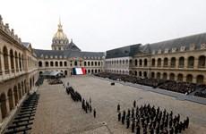 Pháp tổ chức lễ tưởng niệm các nạn nhân vụ khủng bố 13/11