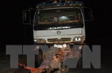 Xe tải đâm công nông, 14 người trong một gia đình thương vong