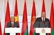Tổng thống Cộng hòa Belarus bắt đầu thăm cấp Nhà nước tới Việt Nam