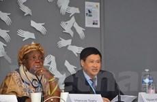 Việt Nam góp sáng kiến ứng phó với biến đổi khí hậu toàn cầu