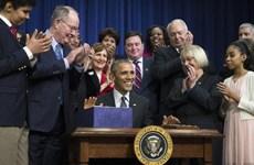 Tổng thống Barack Obama ký ban hành luật cải cách giáo dục Mỹ