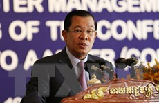 Thủ tướng Campuchia Hun Sen bắt đầu thăm chính thức Thái Lan