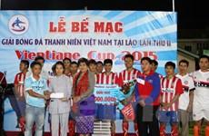 Thanh niên Việt Nam tại Lào phát huy truyền thống tương thân tương ái