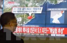 Nhật Bản, EU, Hàn Quốc thảo luận về vụ thử hạt nhân của Triều Tiên