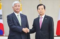 Hàn Quốc-Nhật Bản nhất trí phối hợp đối phó với Triều Tiên