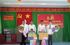 Ninh Thuận phong, truy tặng danh hiệu Bà mẹ Việt Nam Anh hùng