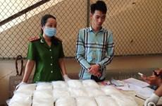 Phá đường dây ma túy lớn từ Bắc vào Nam, thu giữ 18,5kg ma túy đá