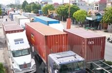 Hải Phòng: Ùn tắc nghiêm trọng tại đường độc đạo nối cảng Đình Vũ
