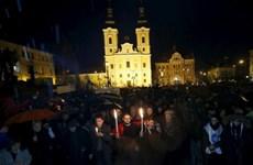 Hàng nghìn giáo viên biểu tình phản đối cải cách giáo dục tại Hungary