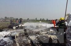 Rơi máy bay quân sự ở Myanmar và Indonesia, nhiều thương vong