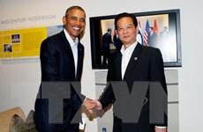 Thủ tướng Nguyễn Tấn Dũng hội kiến Tổng thống Mỹ Obama