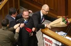 Nghị sỹ xúc phạm Thủ tướng Ukraine trở lại đảng của Tổng thống