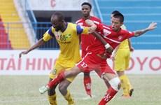 Sông Lam Nghệ An mùa thứ 2 liên tiếp thất bại trước Hải Phòng
