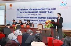 Nhật Bản chia sẻ kinh nghiệm tổ chức thi tuyển công chức tập trung