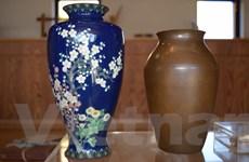 Shippo - Tinh xảo nghệ thuật tráng men trên phôi đồng của người Nhật