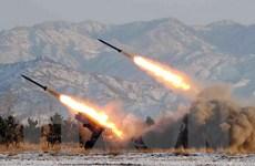 Yonhap: Triều Tiên bắn các tên lửa tầm ngắn ra vùng biển phía Đông