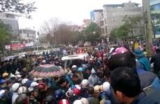 Dùng súng để giải quyết mâu thuẫn cá nhân ở thị xã Sầm Sơn