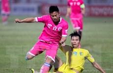 Trận derby thiếu lửa giữa hai đội bóng Thủ đô Hà Nội