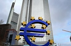 Lạm phát tháng Hai tại Khu vực Eurozone rơi vào vùng âm