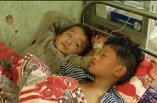 Hà Giang: 45 học sinh nhập viện nghi ngộ độc thực phẩm