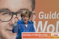 """Bầu cử Nghị viện tại ba bang ở Đức trong ngày """"Siêu Chủ Nhật"""""""