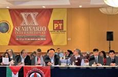 Việt Nam tham dự Hội thảo quốc tế về các chính đảng tại Mexico