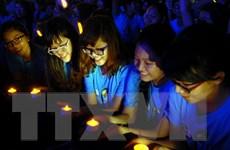 Hơn 5.000 người tham gia sự kiện Giờ Trái Đất tại TP.HCM