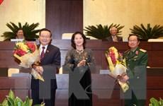 Ông Đỗ Bá Tỵ và Phùng Quốc Hiển trúng cử Phó Chủ tịch Quốc hội