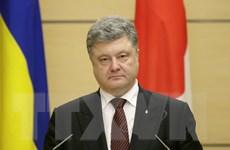 Tổng thống Ukraine Poroshenko bác bỏ việc giải tán quốc hội