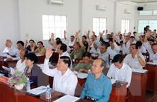 Hội nghị hiệp thương lần 3 lập danh sách chính thức người ứng cử
