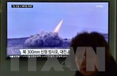 Mỹ phát hiện và theo dõi vụ phóng tên lửa thất bại của Triều Tiên