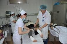 Lãnh đạo tỉnh Nghệ An thăm hỏi các nạn nhân vụ nổ lò hơi
