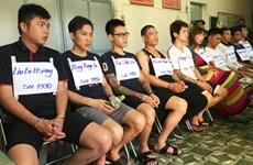 Phá đường dây giả công an để lừa đảo do người Đài Loan cầm đầu
