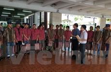 120 ngư dân được Indonesia trao trả về nước từ đầu năm 2016