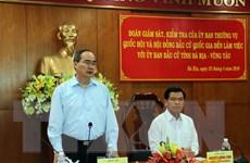 Kiểm tra công tác chuẩn bị bầu cử tại Bà Rịa-Vũng Tàu và Ninh Bình