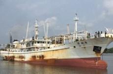 Hải quân Indonesia bắt tàu cá Trung Quốc đang bị Interpol truy nã