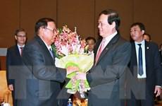 Lào quyết tâm cùng Việt Nam gìn giữ, vun đắp quan hệ truyền thống