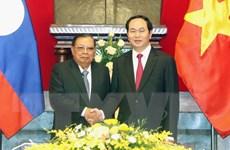 Chủ tịch nước Trần Đại Quang hội kiến Tổng Bí thư, Chủ tịch nước Lào