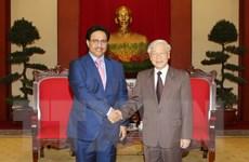Tổng Bí thư Nguyễn Phú Trọng tiếp Thủ tướng Nhà nước Kuwait