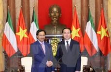 Kuwait mong muốn đẩy mạnh hợp tác nhiều mặt với Việt Nam