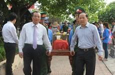 Quảng Bình tổ chức truy điệu, an táng hài cốt liệt sỹ hy sinh tại Lào