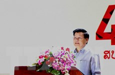 Thúc đẩy quan hệ hữu nghị truyền thống, hợp tác toàn diện Việt-Lào